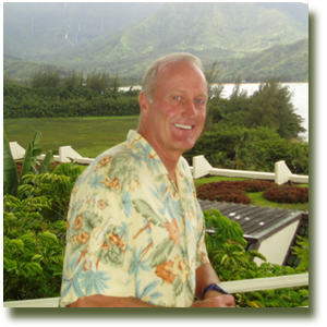 Mark O. Haroldsen in Hawaii