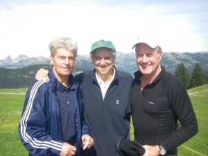 Stein Eriksen, Roy Emerson, Mark Haroldson