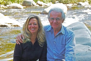 Joe Land with wife Krista in Sept. 2009